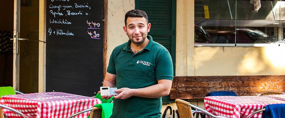 SumUp Merchant - Gökhan - Olivio, Pasta Bar