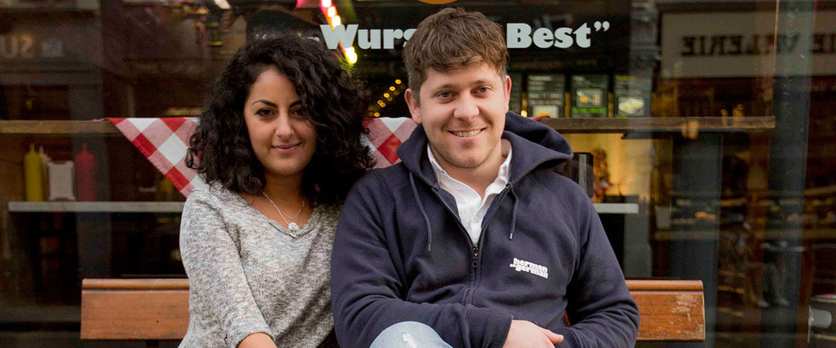SumUp Merchant - Azadeh Falakshahi und Florian Frey - Herman-ze-German, Restaurant