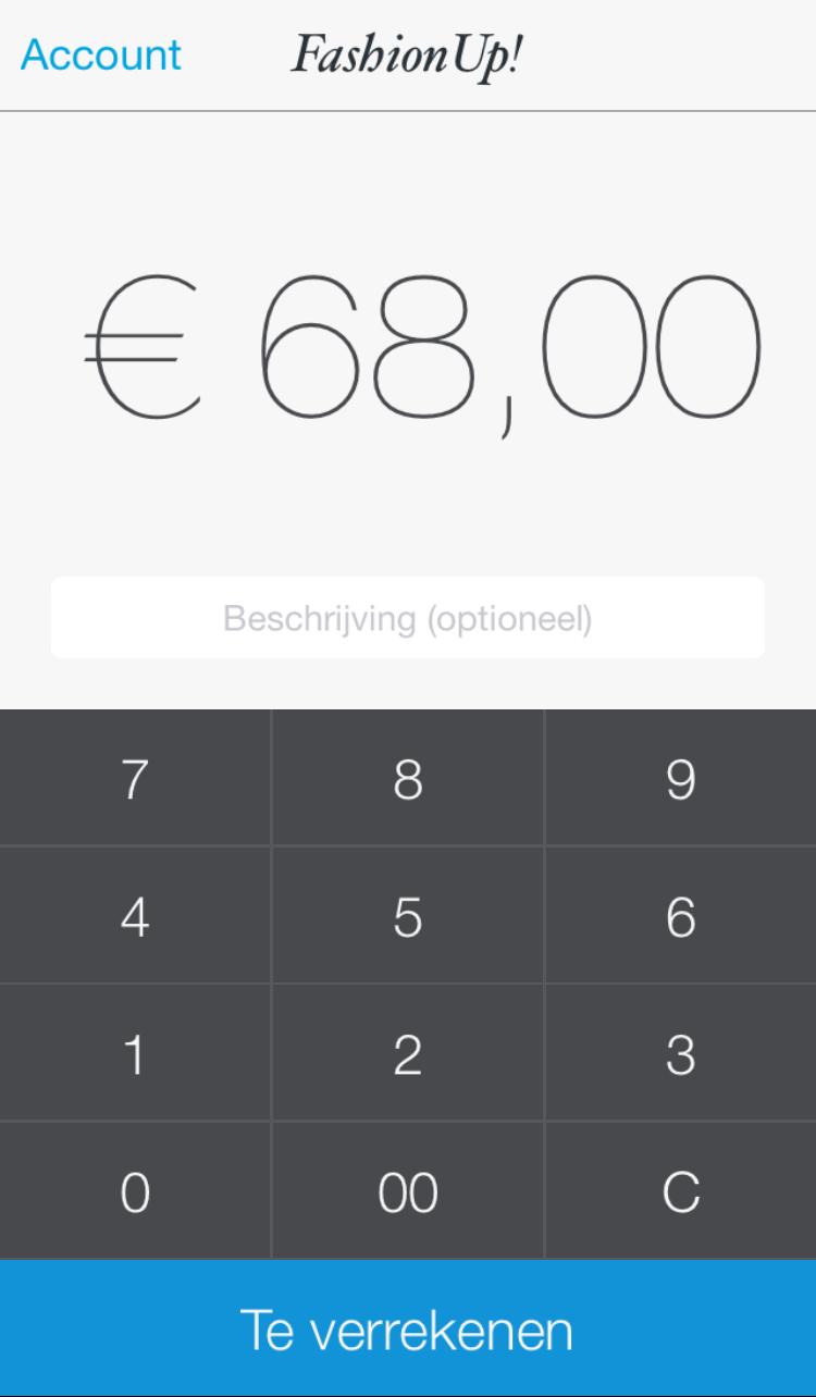 App screen - Transaction