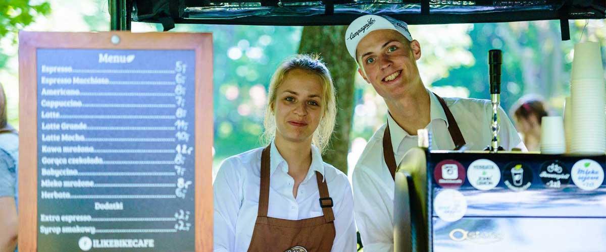 SumUp Merchant - Marcin Łojewski - Właściciel Bike Cafe