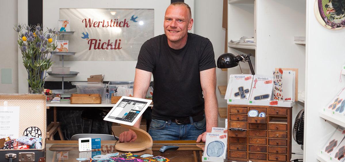 Steffen, Wertstück Flickli