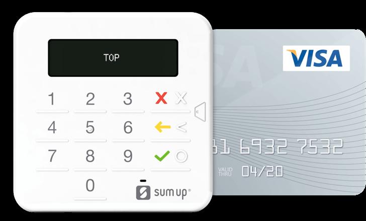 SumUp TOP Card Terminal
